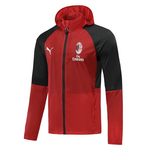 Coupe Vent AC Milan 2019-20 Rouge Negro