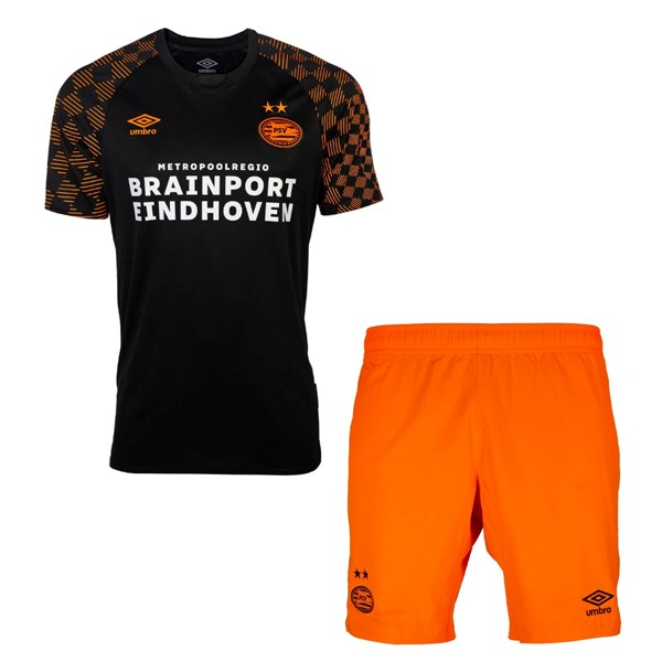Maillot Football Eindhoven Exterieur Enfant 2019-20 Negro Orange