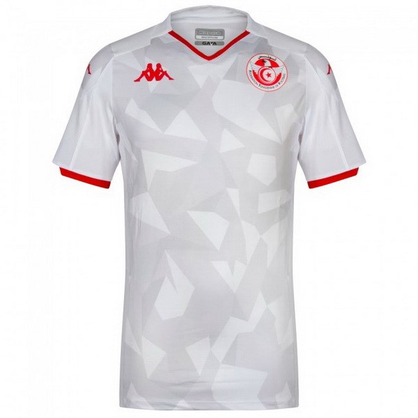 Maillot Football Tunisia Domicile 2019 Blanc