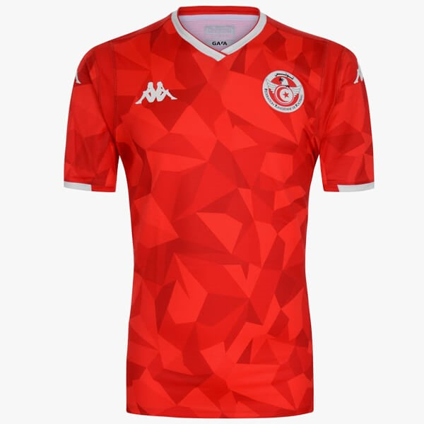 Maillot Football Tunisia Exterieur 2019 Rouge
