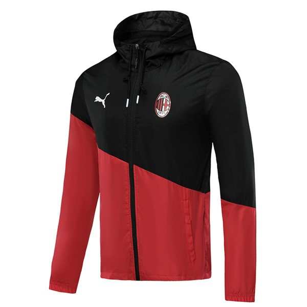 Coupe Vent AC Milan 2019-20 Negro Rouge