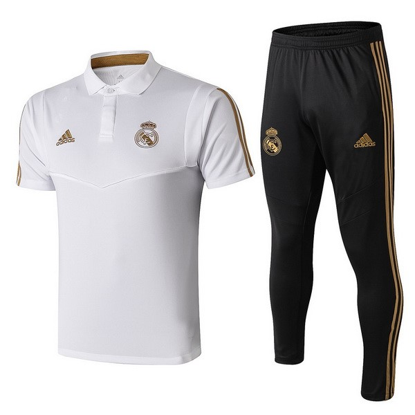 Entrainement Real Madrid Ensemble Complet 2019-20 Negro Blanc
