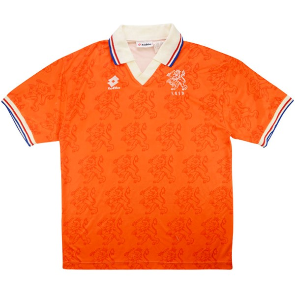 Maillot Football Pays-Bas Domicile Retro 1995 Orange