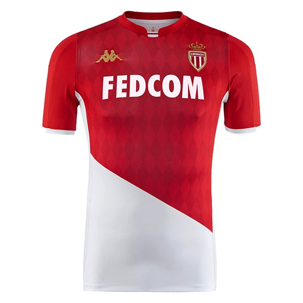 Thailande Maillot Football AS Monaco Domicile 2019-20 Rouge Blanc