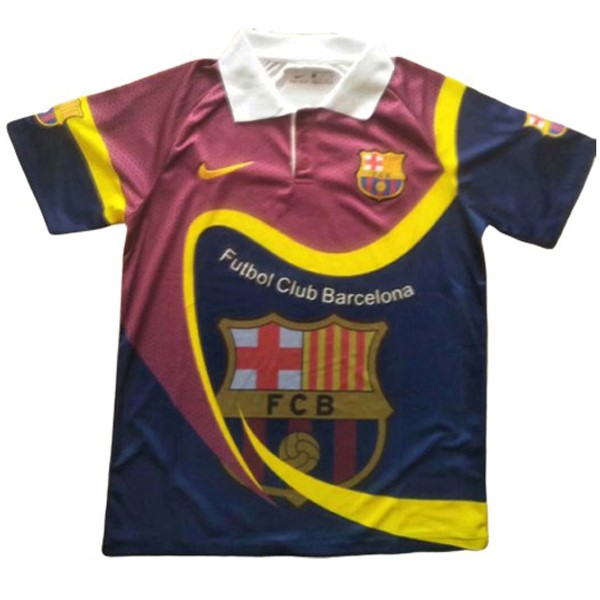 Entrainement Barcelone 2019-20 Rouge Jaune
