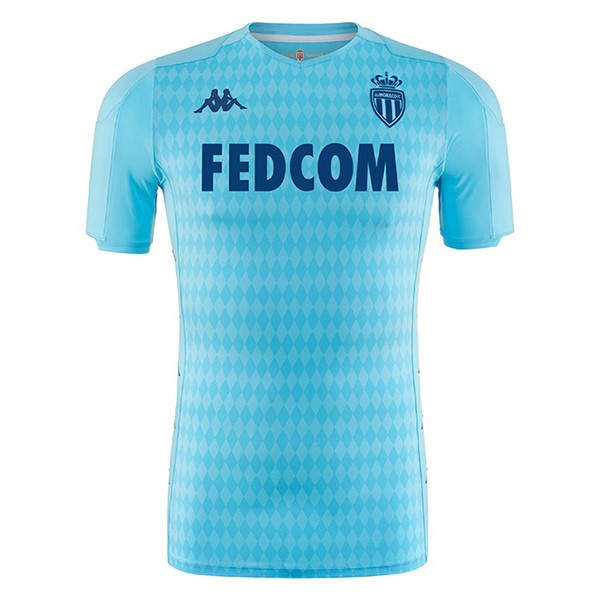 Thailande Maillot Football AS Monaco Third 2019-20 Bleu Clair