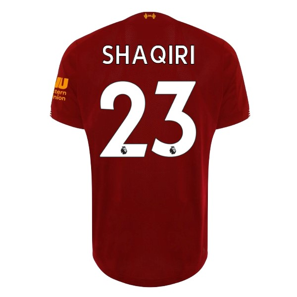 Maillot Football Liverpool NO.23 Shaqiri Domicile 2019-20 Rouge