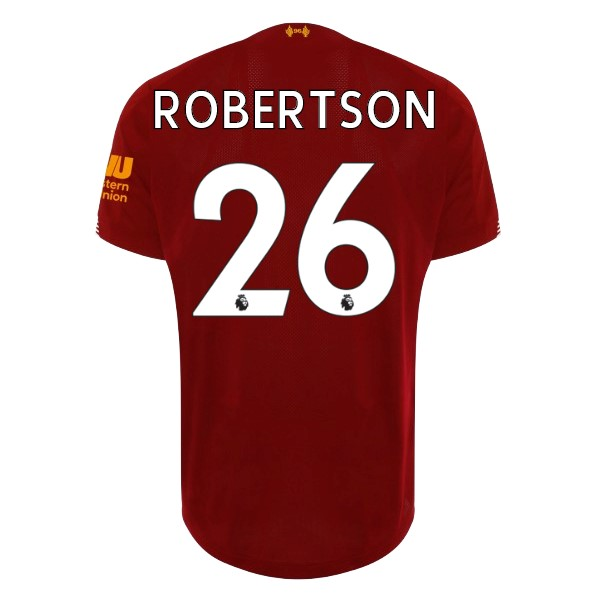 Maillot Football Liverpool NO.26 Robertson Domicile 2019-20 Rouge