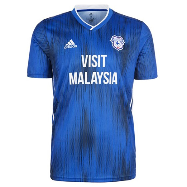 Thailande Maillot Football Cardiff City Domicile 2019-20 Bleu