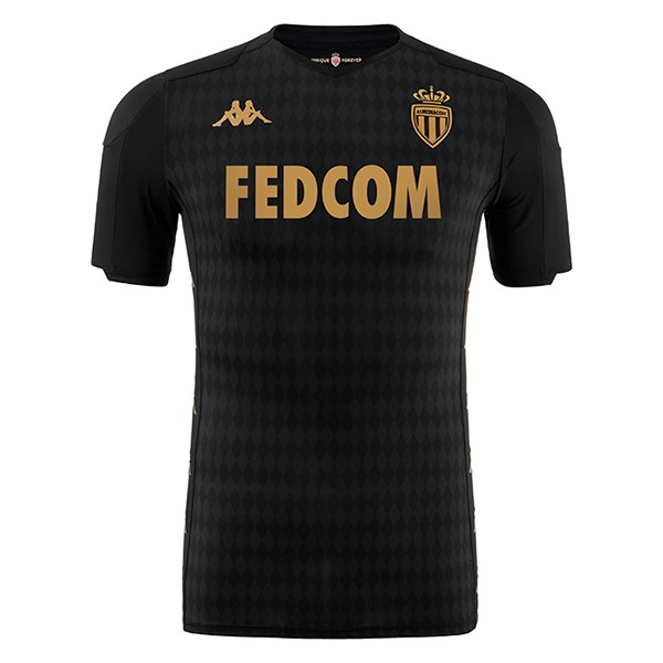 Thailande Maillot Football AS Monaco Exterieur 2019-20 Noir