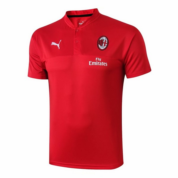 Polo AC Milan 2019-20 Rouge