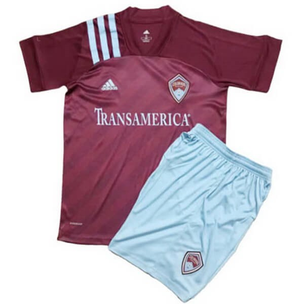 Maillot Football Colorado Rapids Domicile Enfant 2020-21 Rouge