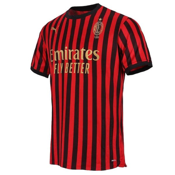 Thailande Maillot Football AC Milan 120th Rouge