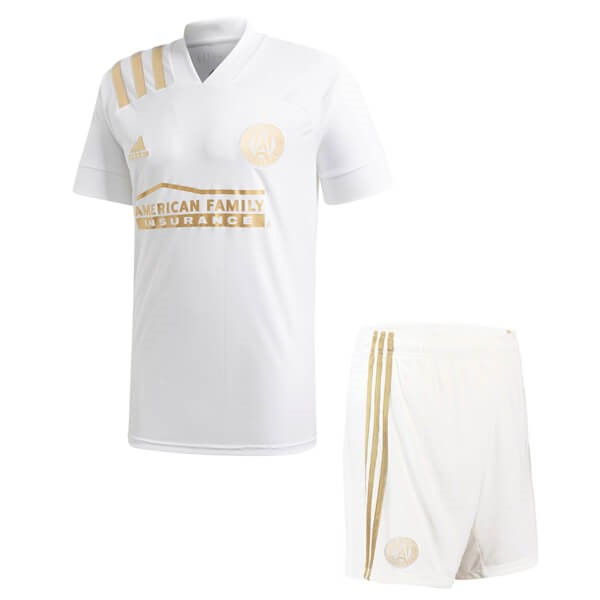 Maillot Football Atlanta United Exterieur Enfant 2020-21 Blanc