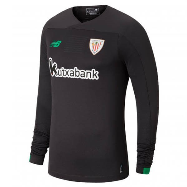 Maillot Football Athletic Bilbao ML Gardien 2019-20 Gris Noir