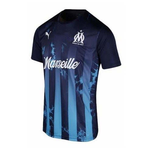Thailande Maillot Football Marseille Influence blue