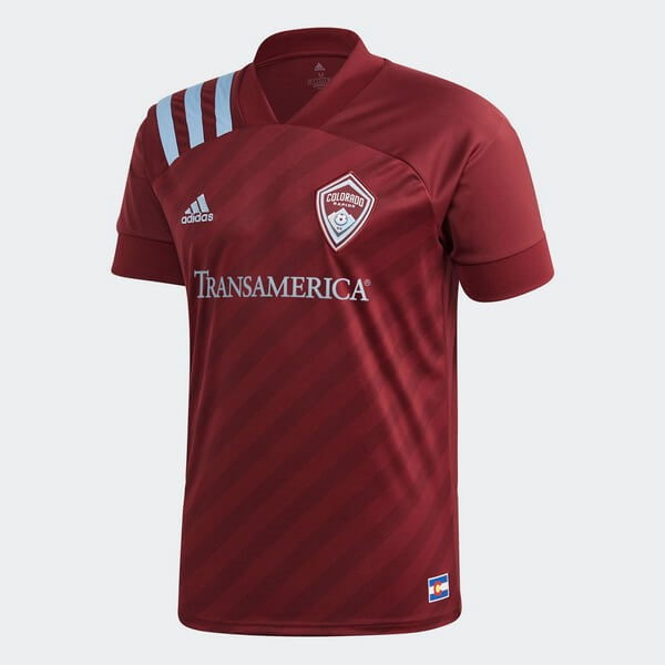 Thailande Maillot Football Colorado Rapids Domicile 2020-21 Rouge