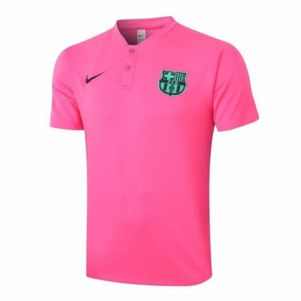 Polo Football Barcelone 2020-21 Rose