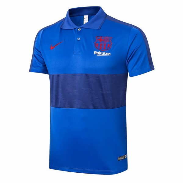 Polo Football Barcelone 2020-21 Bleu