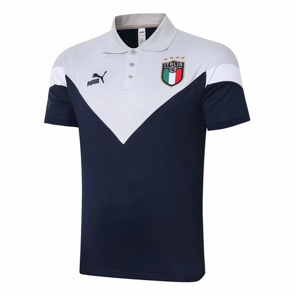 Polo Football Italie 2020 Gris