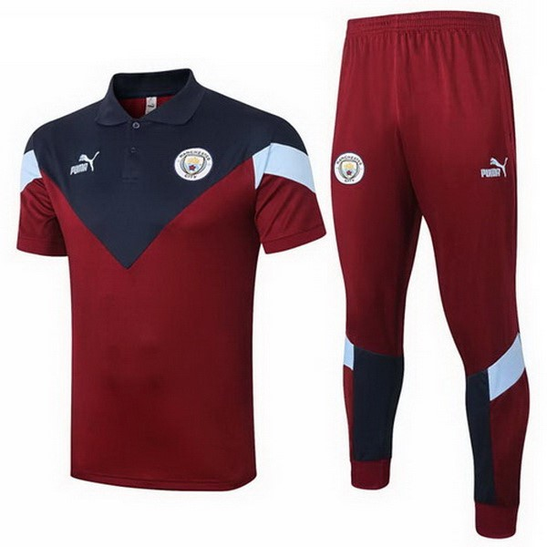 Polo Football Manchester City Ensemble Complet 2020-21 Bordeaux