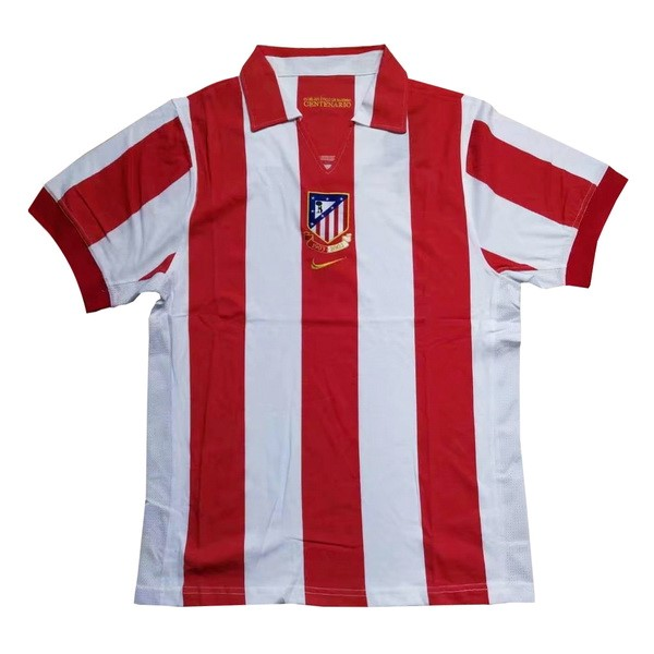 Maillot Football Atlético Madrid Domicile Retro 1903 2003 Rouge