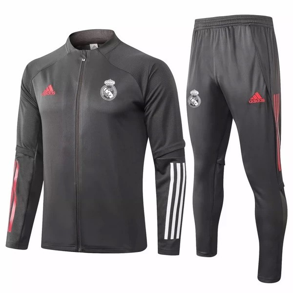 Survetement Football Real Madrid 2020-21 Gris Marine