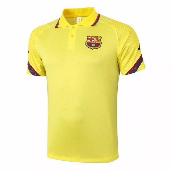 Polo Football Barcelone 2020-21 Jaune