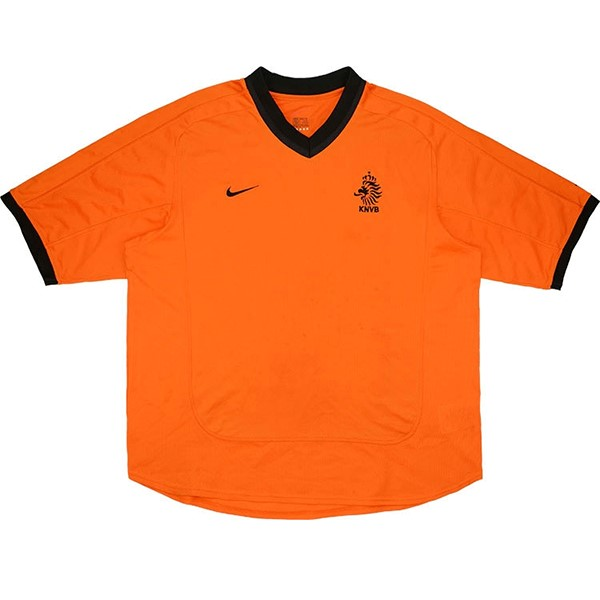 Thailande Maillot Football Pays Bas Domicile Retro 2000 Orange