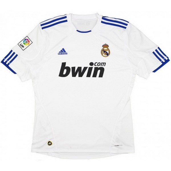 Thailande Maillot Football Real Madrid Domicile Retro 2010 2011 Blanc