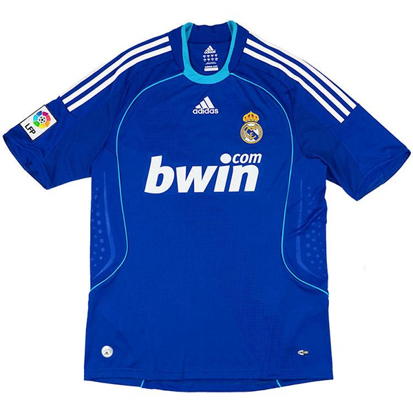 Thailande Maillot Football Real Madrid Exterieur Retro 2008 2009 Bleu