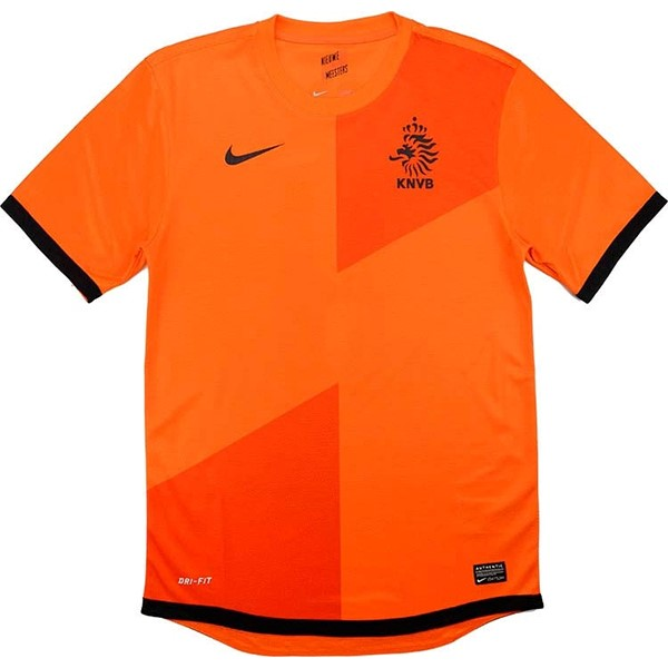 Thailande Maillot Football Pays Bas Domicile Retro 2012 Orange