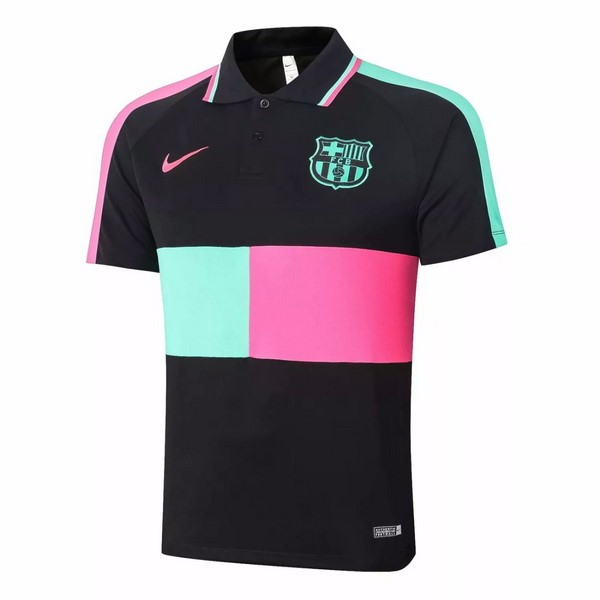 Polo Football Barcelone 2020-21 Noir Rose