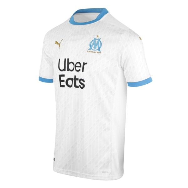 Maillot Football Marseille Domicile 2020-21 Blanc