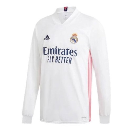 Thailande Maillot Football Real Madrid Domicile ML 2020-21