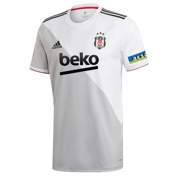Thailande Maillot Football Besiktas Domicile 2020-21 Blanc
