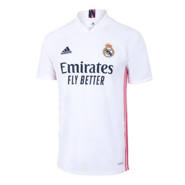 Thailande Maillot Football Real Madrid Domicile 2020-21 Blanc