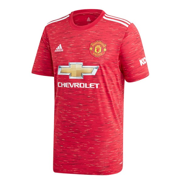 Maillot Football Manchester United Domicile 2020-21 Rouge