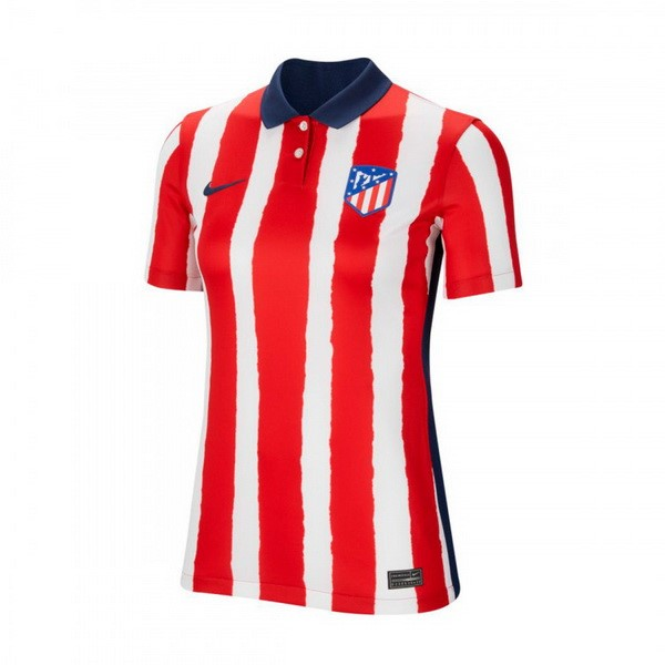 Maillot Football Atlético Madrid Domicile Femme 2020-21 Rouge