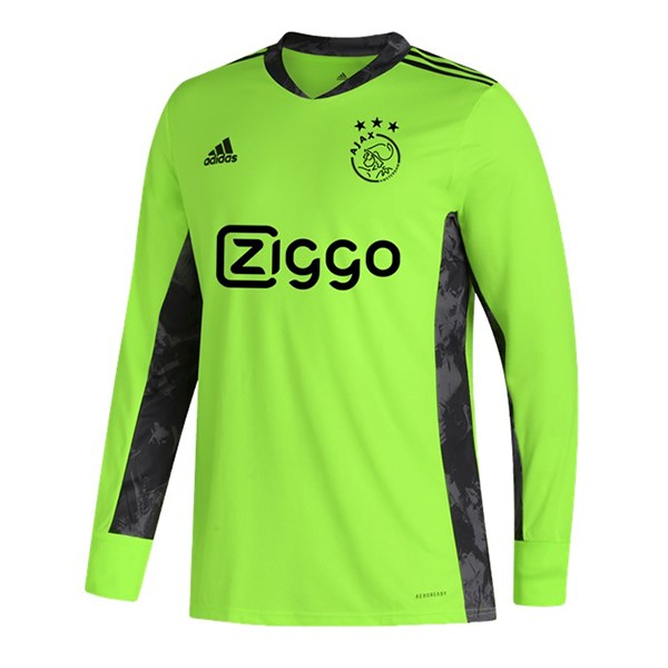 Thailande Maillot Football Ajax ML Gardien 2020-21 Vert