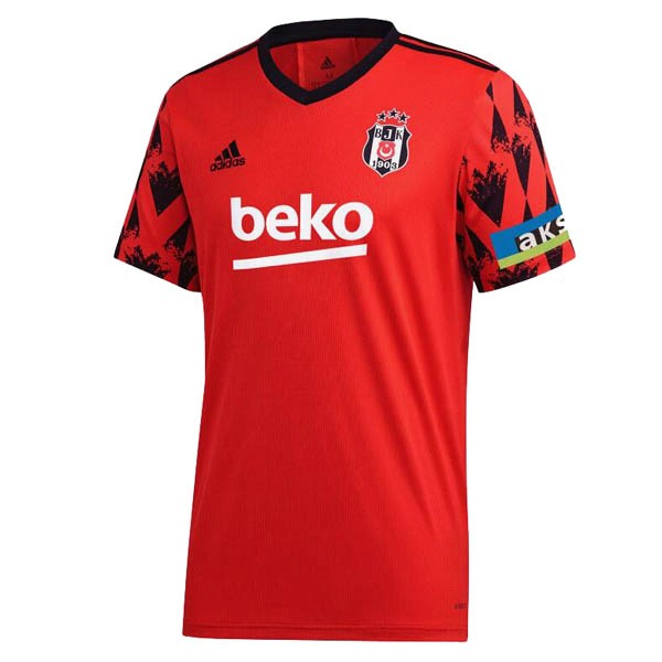 Thailande Maillot Football Besiktas Third 2020-21 Rouge