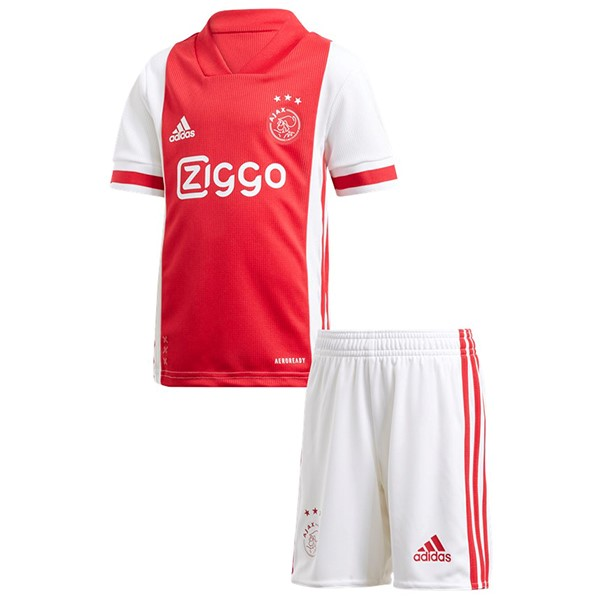 Maillot Football Ajax Domicile Enfant 2020-21 Rouge
