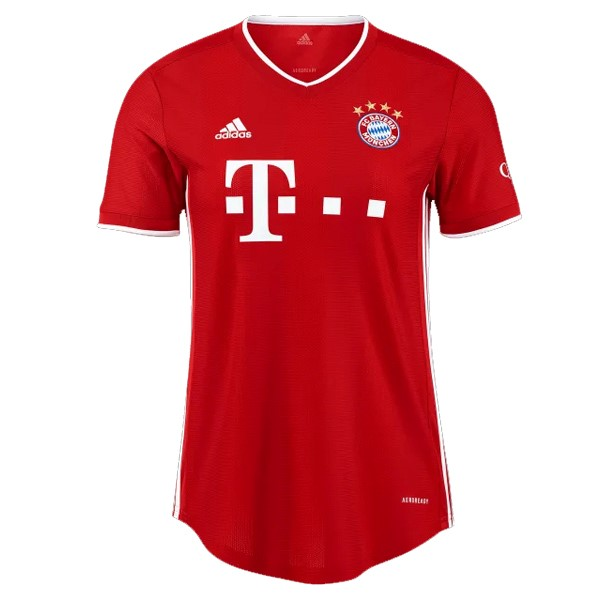 Maillot Football Bayern Munich Domicile Femme 2020-21 Rouge