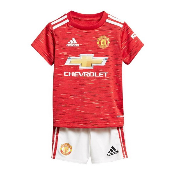 Maillot Football Manchester United Domicile Enfant 2020-21 Rouge