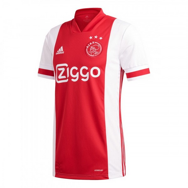 Maillot Football Ajax Domicile 2020-21 Rouge