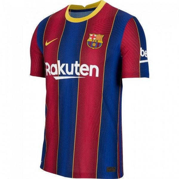 Maillot Football Barcelone Domicile 2020-21 Bleu Rouge