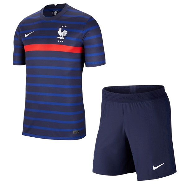 Maillot Football France Domicile Enfant 2020 Bleu