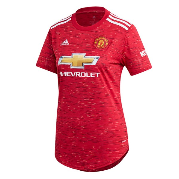 Maillot Football Manchester United Domicile Femme 2020-21 Rouge