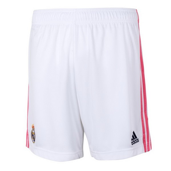 Pantalon Real Madrid Domicile 2020-21 Blanc