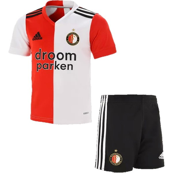 Maillot Football Feyenoord Rotterdam Domicile Enfant 2020-21 Rouge